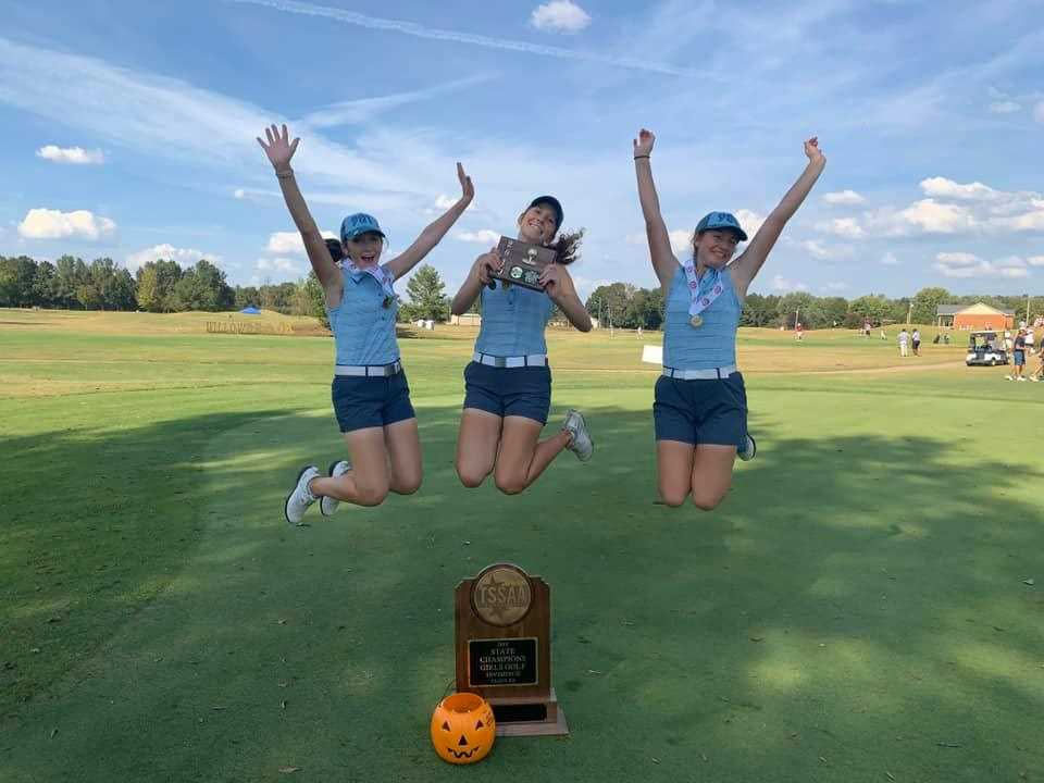 St. Agnes Wins Golf State Title for 6th Straight Year