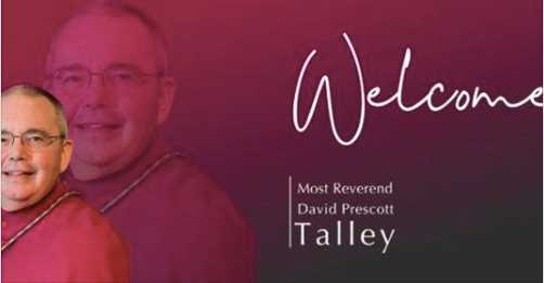 Welcome Bishop Talley