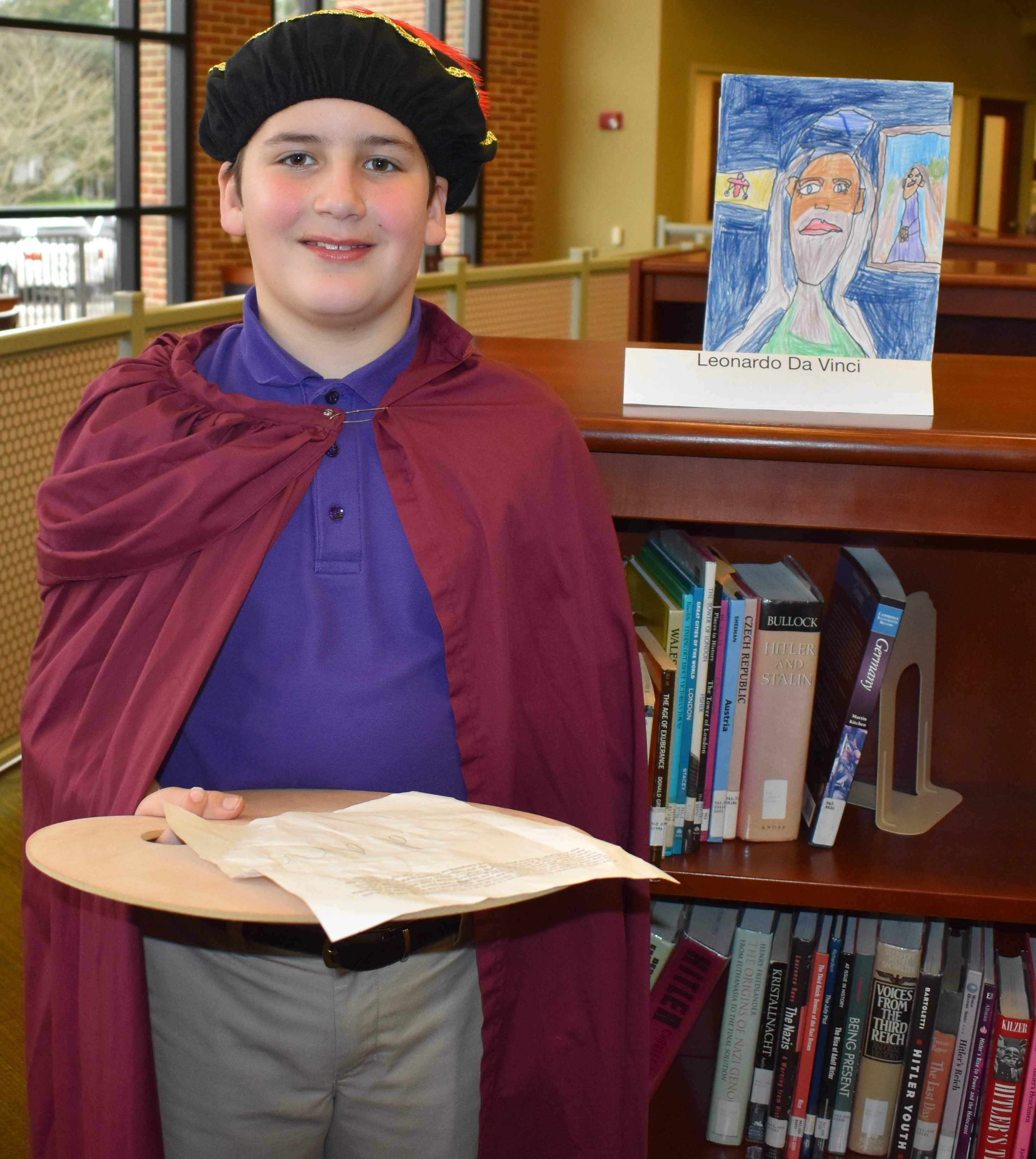 St. Dominic School Brings History to Life