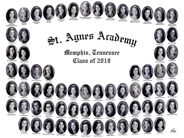 Top Honors Announced for the St. Agnes Academy Class of 2019