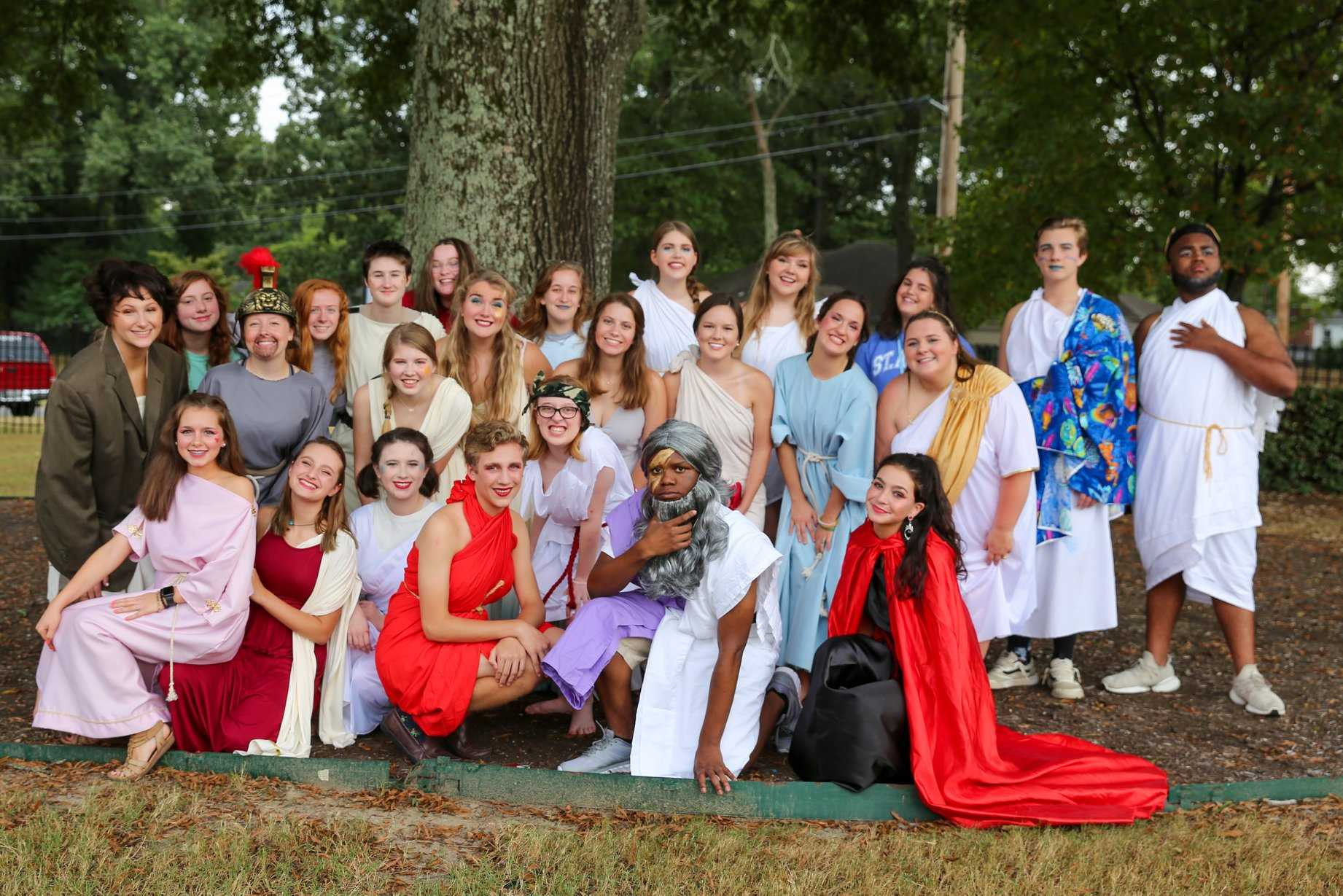 Theatre Department Presents The Iliad, the Odyssey, and All of Greek Mythology in 99 Minutes or Less