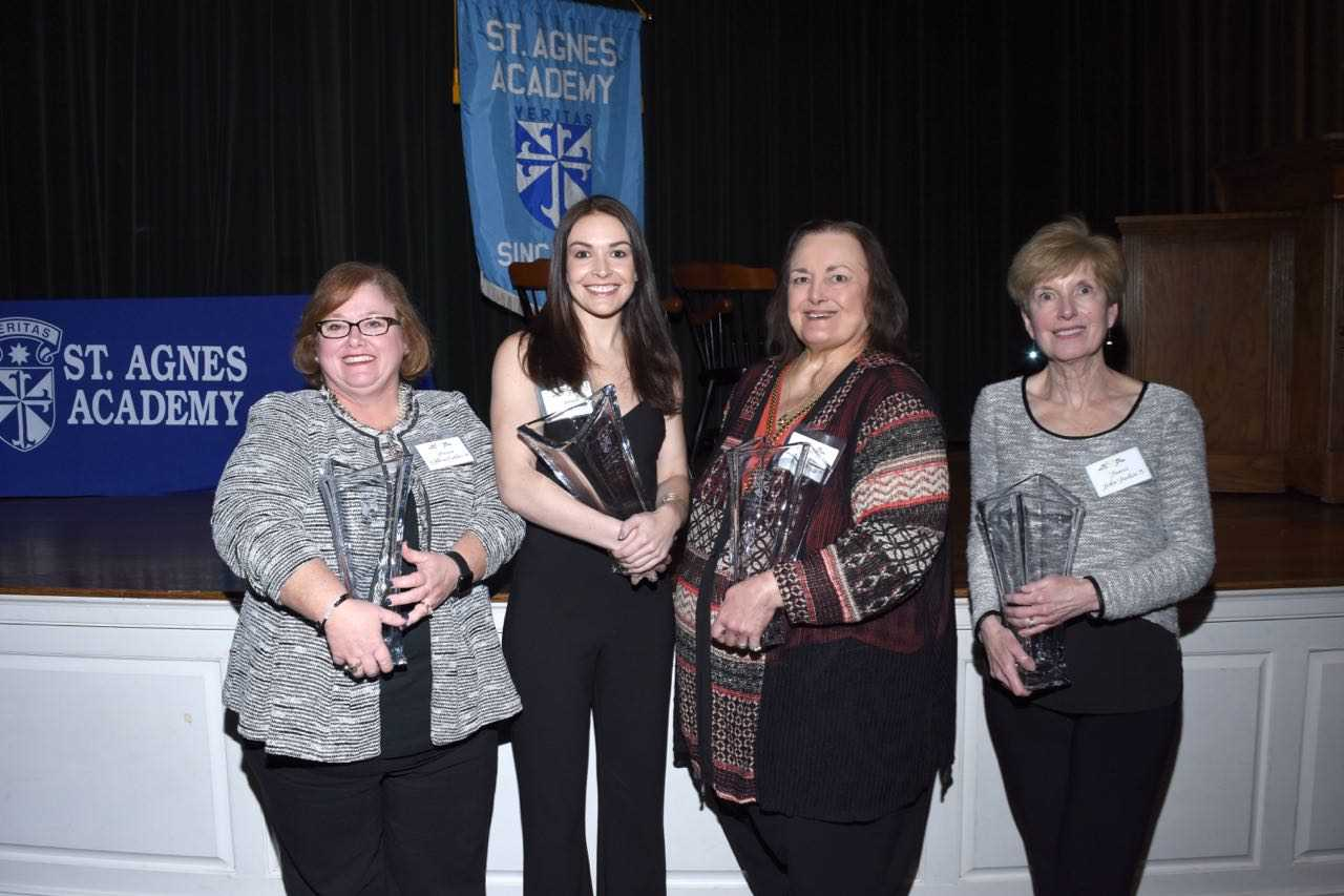 St. Agnes Academy Alumnae Hall of Fame Inducts New Members