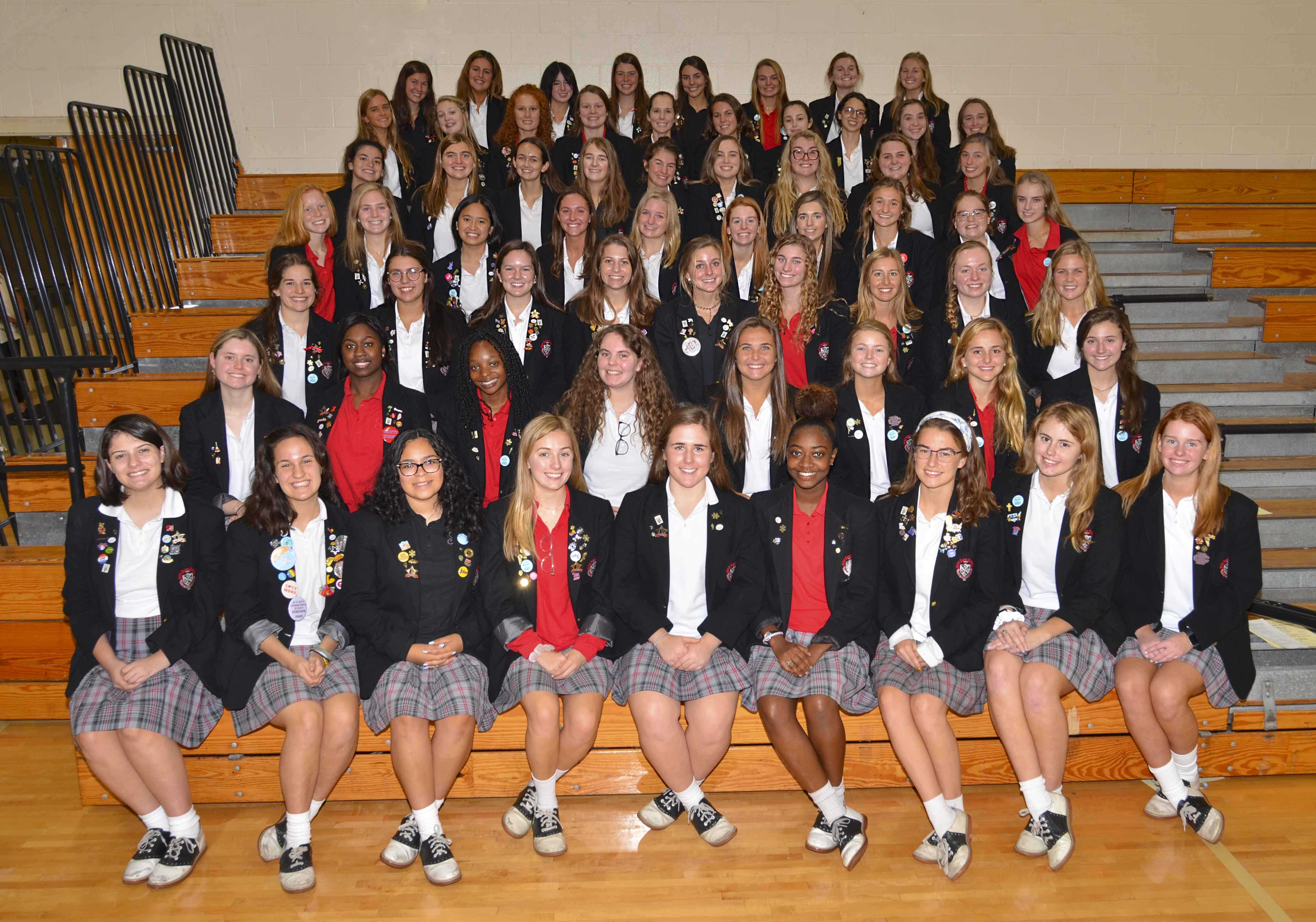 SAA Seniors Inducted  Into National Honor Society